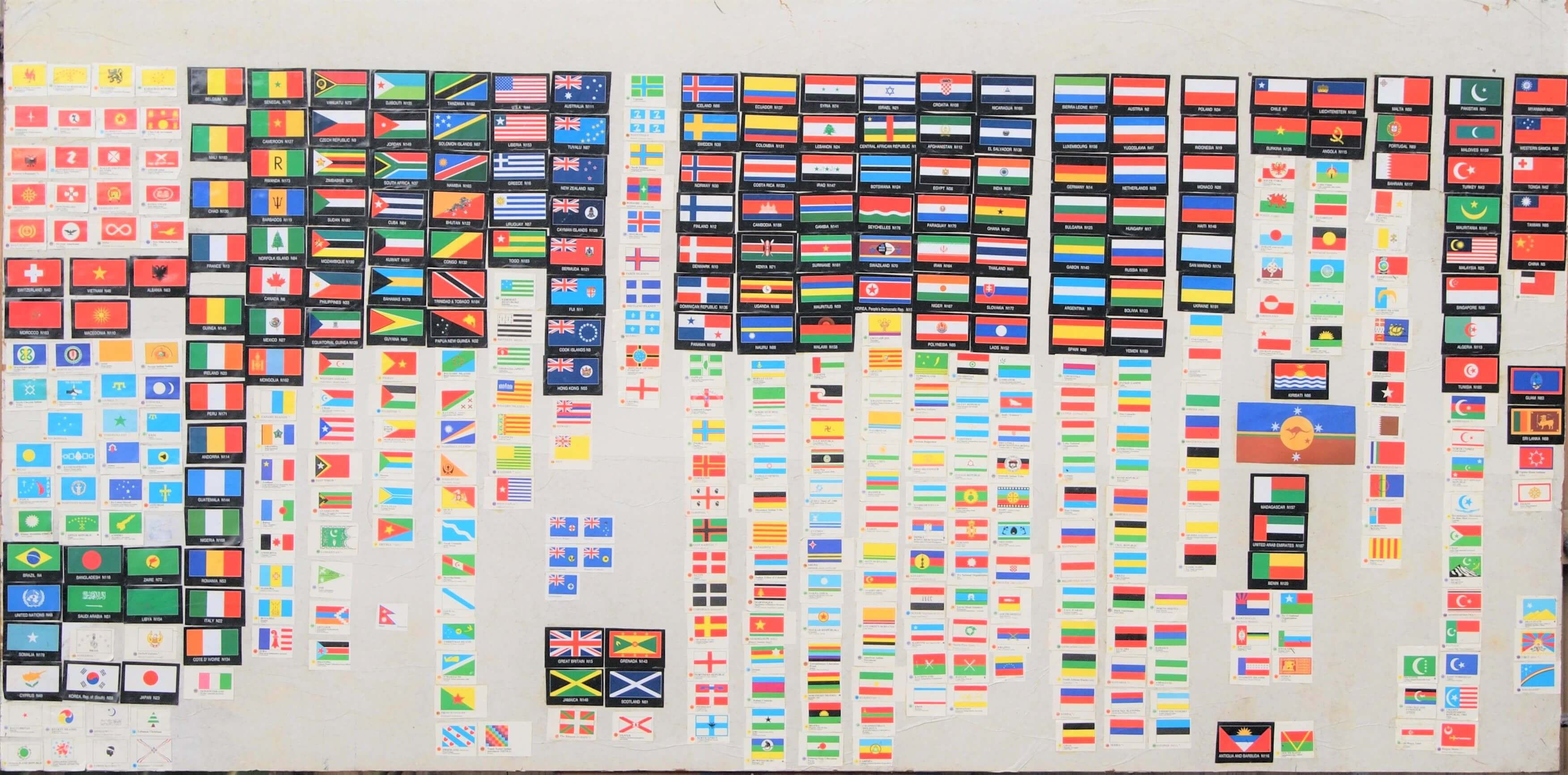 Vexillography Chart