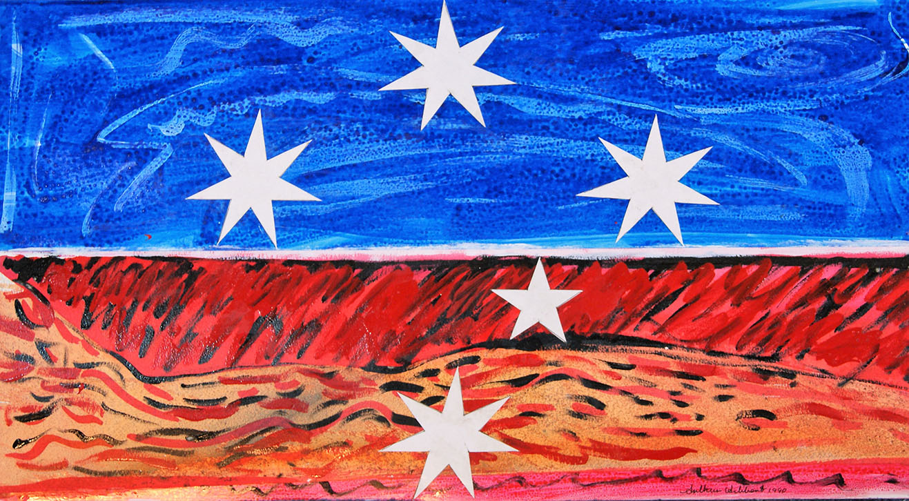 Southern Cross Horizon watercolour 2007