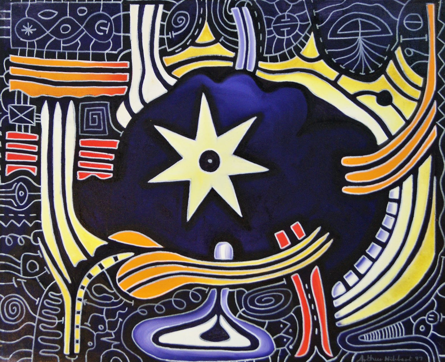 Star and woven cosmos 2009